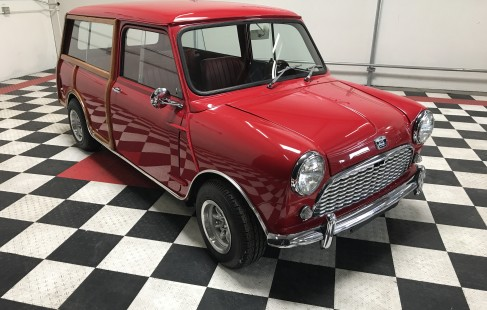 1966 Austin Mini Traveler Estate by DRIVEN.co