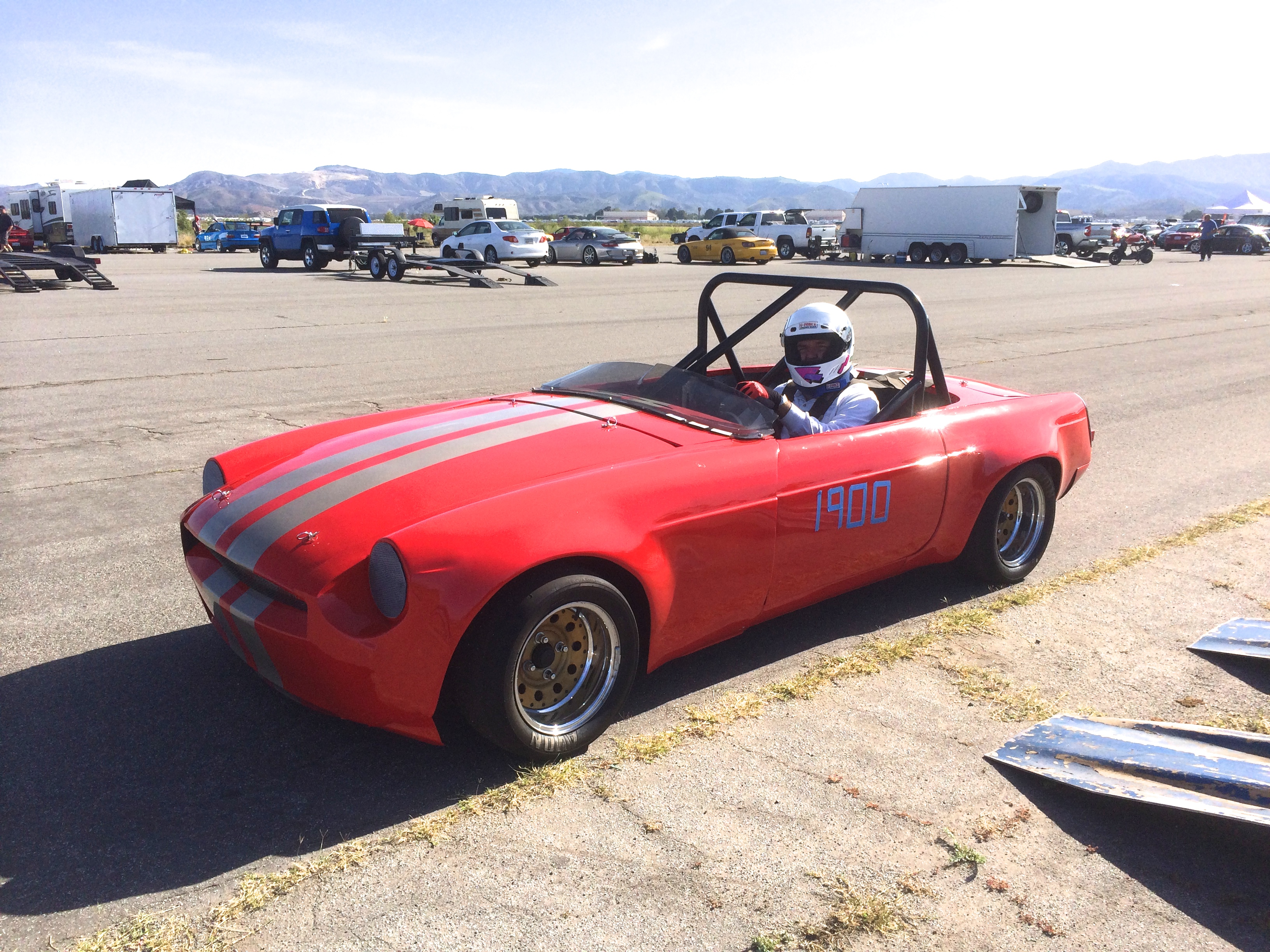MGB Autocross Racer | DRIVEN.CO
