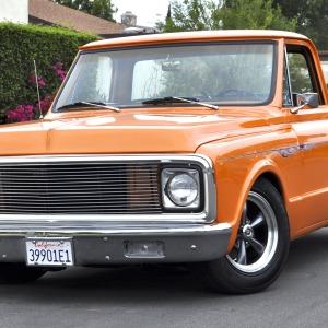 1972 Chevrolet C10 Shortbed Fleetside