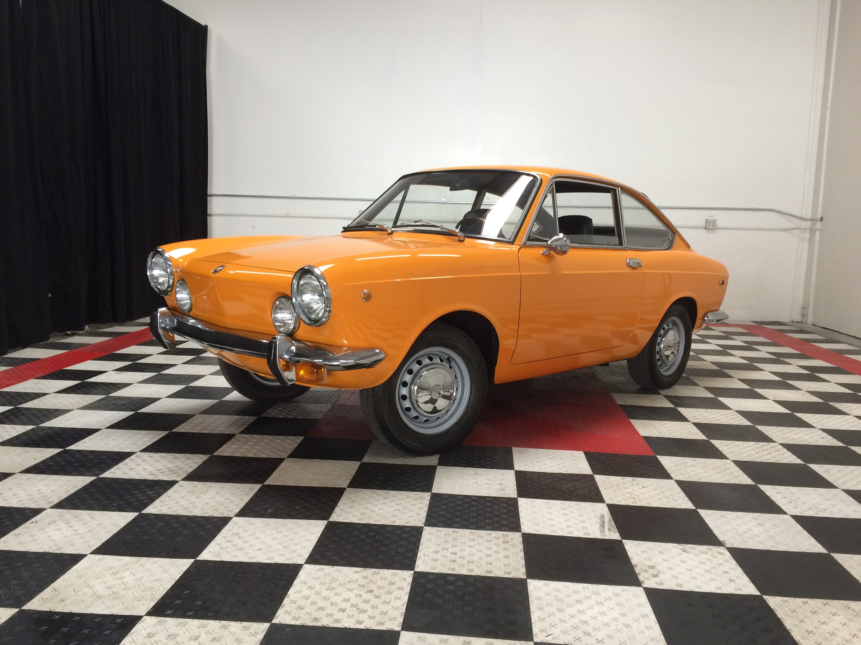 Fiat 850 Fastback Sport Coupe Driven Co