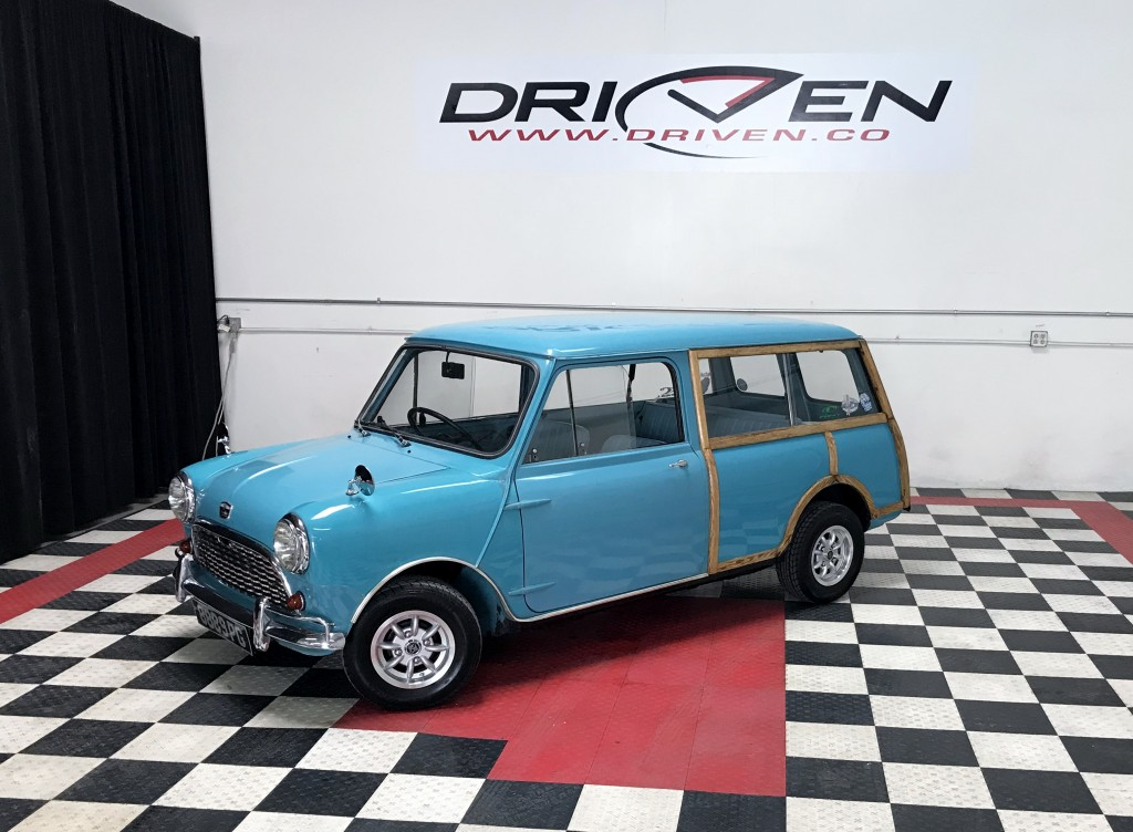 1964 Austin Mini Countryman by DRIVEN.co