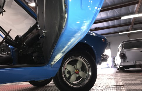 1969 Fiat 850 Sport Coupe by DRIVEN.co