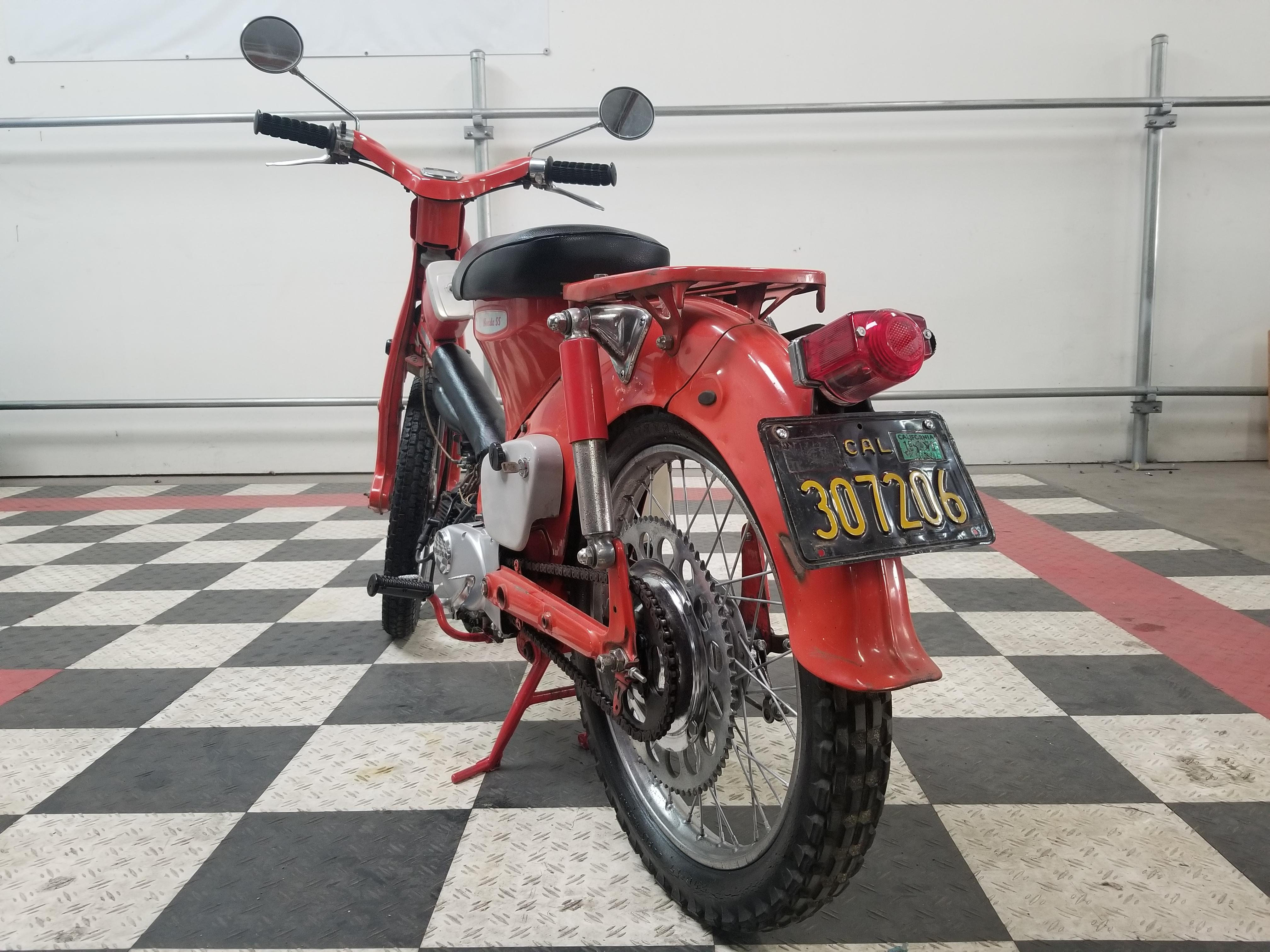 1963 Honda C105 by DRIVEN.co