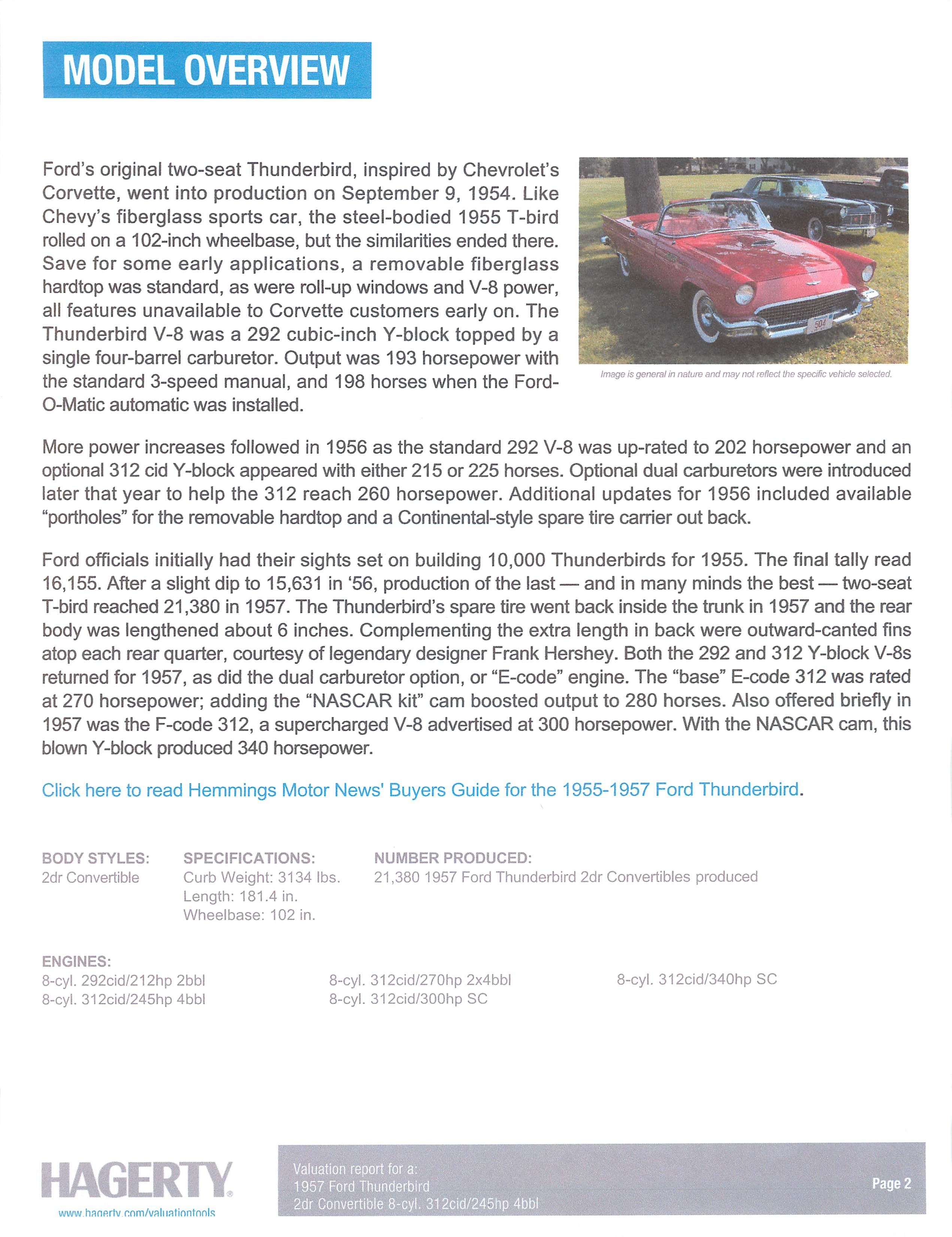 1957 Ford Thunderbird by DRIVEN.co